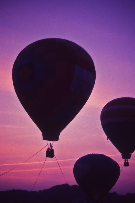 Hot Air Balloon - 8 Print by Randy Muir
