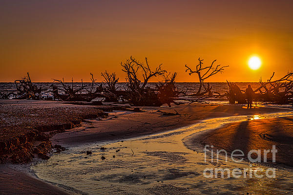 Izet Kapetanovic - Hunting Island Beach at sunrise