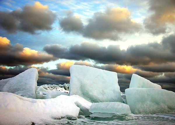 Ice Henge Print by David April