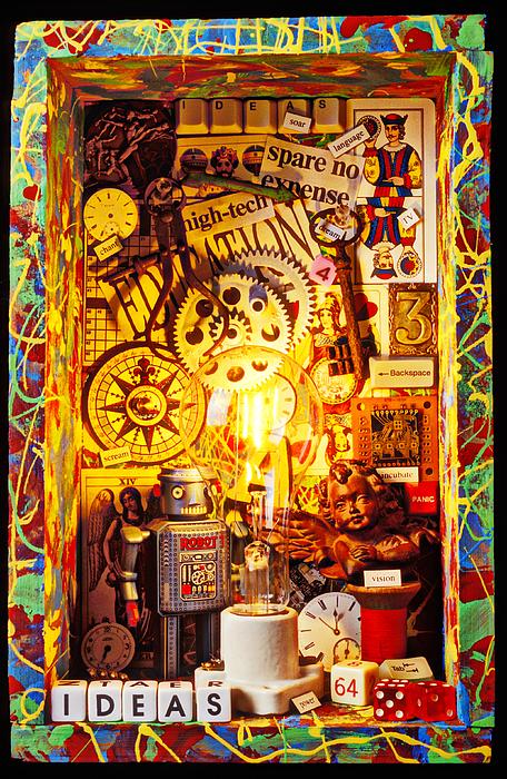 Ideas Print by Garry Gay