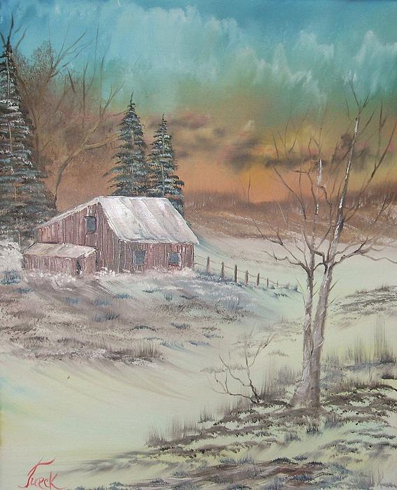 Impressions In Oil - 3 Print by Bill Turck