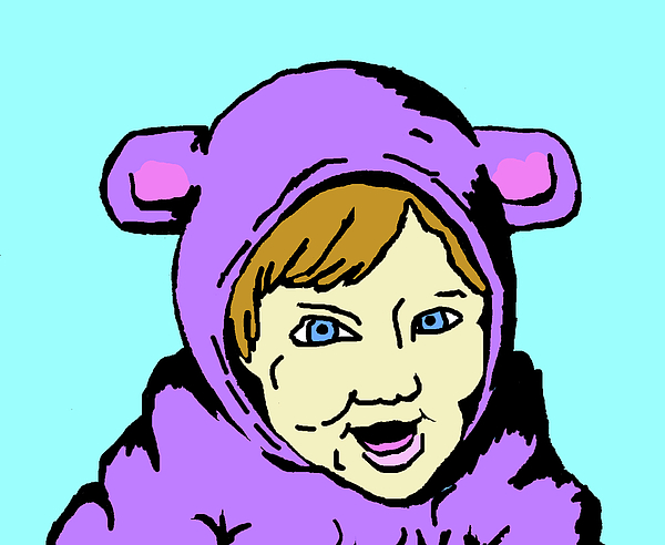 In My Animal Suit 2 Print by Jera Sky