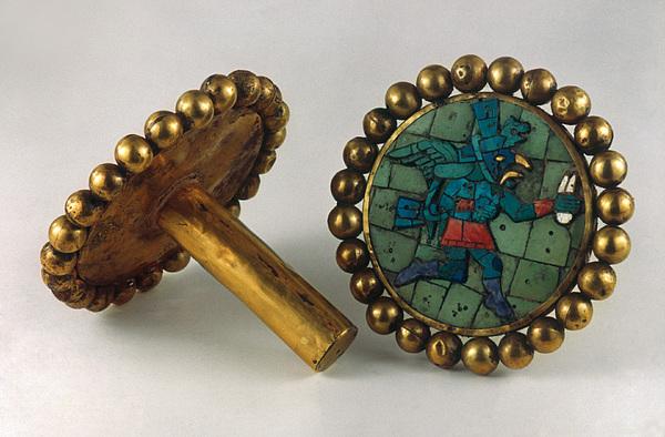 Inca Earrings Print by Granger