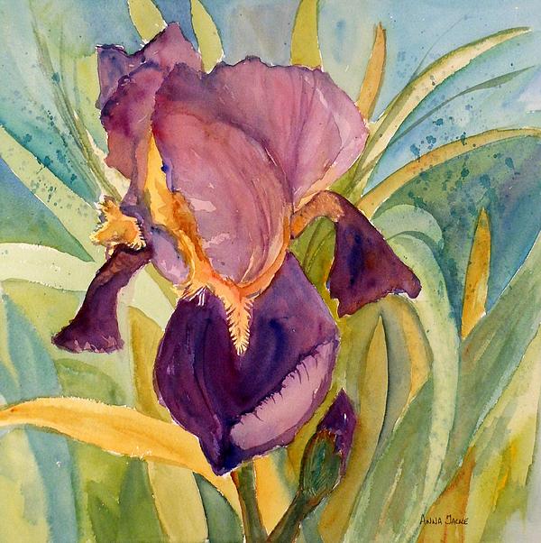 iris bloom by anna jacke. Black Bedroom Furniture Sets. Home Design Ideas
