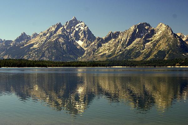 Jackson Lake 2 Print by Marty Koch