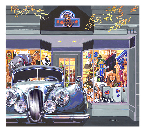 Jaguar The Wild Thing Print by Mike Hill