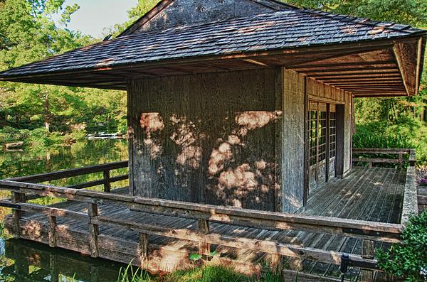 Japanese Teahouse Print by Tamyra Ayles