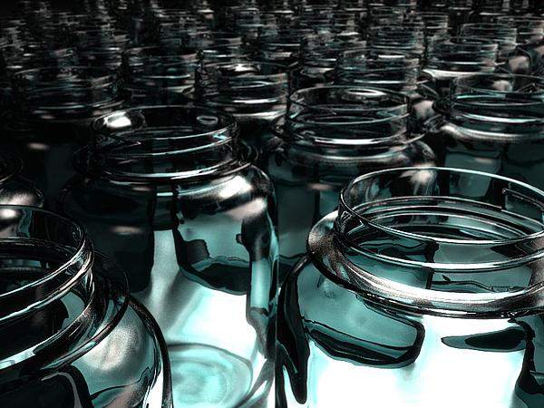 Jars Print by Joel Lueck
