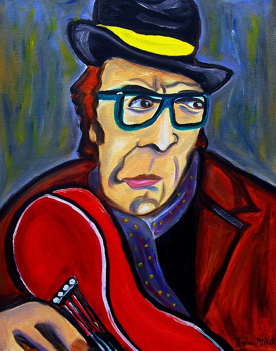 Jazz Man Print by Azalea Millet