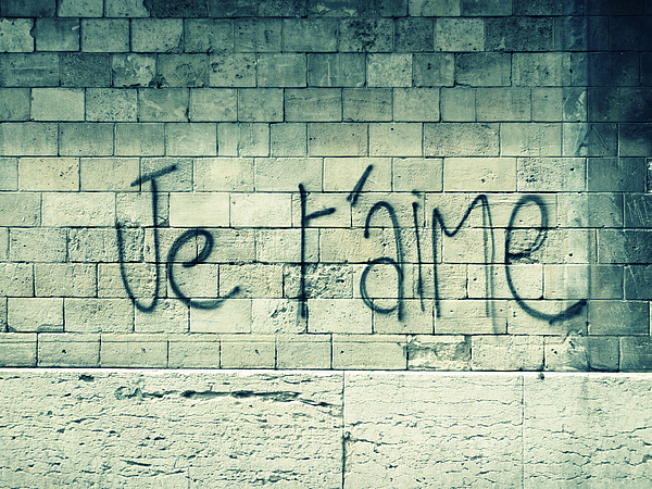 Je T'aime Print by Will Grant