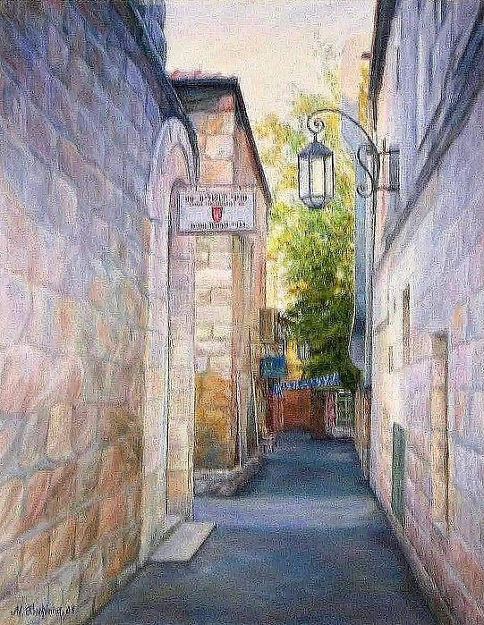 Maya Bukhina - Jerusalem lane