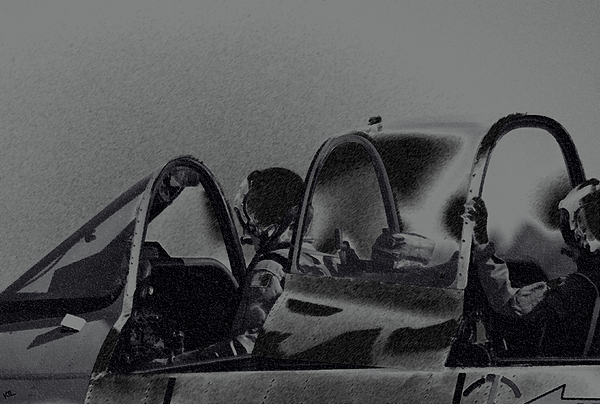 Jet Pilots Print by Karol  Livote