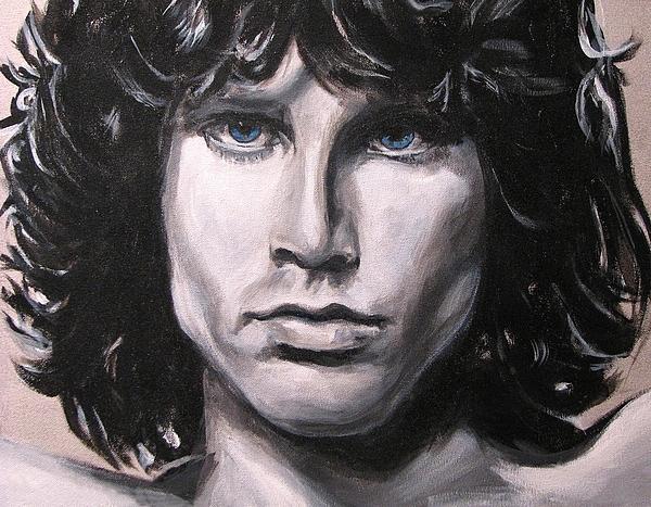 Jim Morrison - The Doors Print by Eric Dee