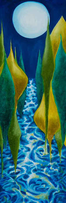 Joel's River Print by Eliza Furmansky