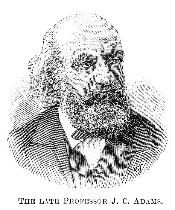 John Couch Adams (1819-1892) Print by Granger