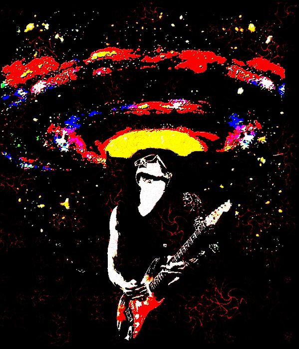 John Mayer's Gravity Print by CD Kirven