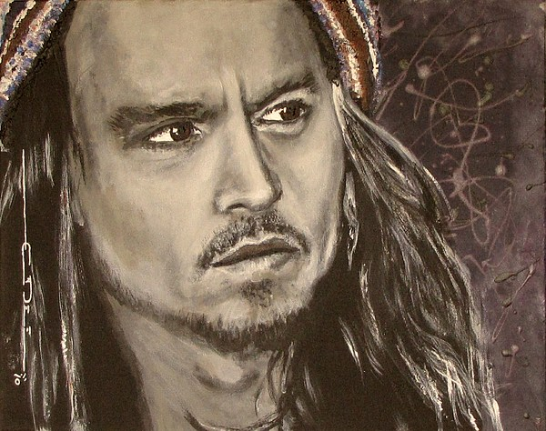 Johnny Depp Print by Eric Dee