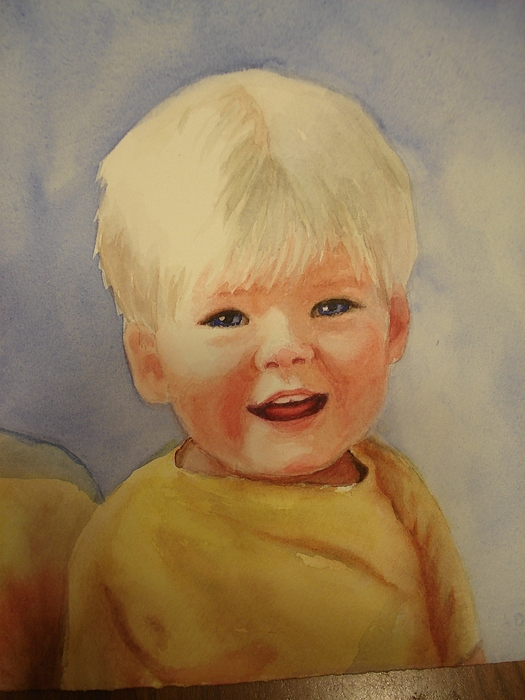 Joshua's Youngest Brother Print by Marilyn Jacobson