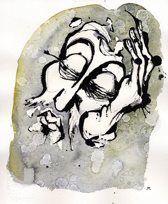 Judgment Of Zeus Print by Mark M  Mellon