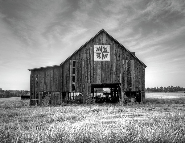 Kentucky Barn Print by Judith Pannozo