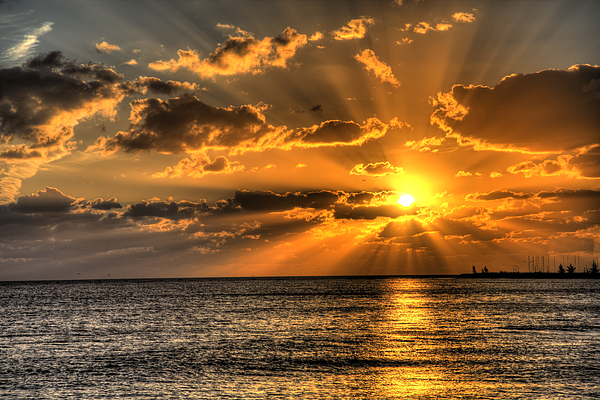 Key West Sunset Print by Shawn Everhart