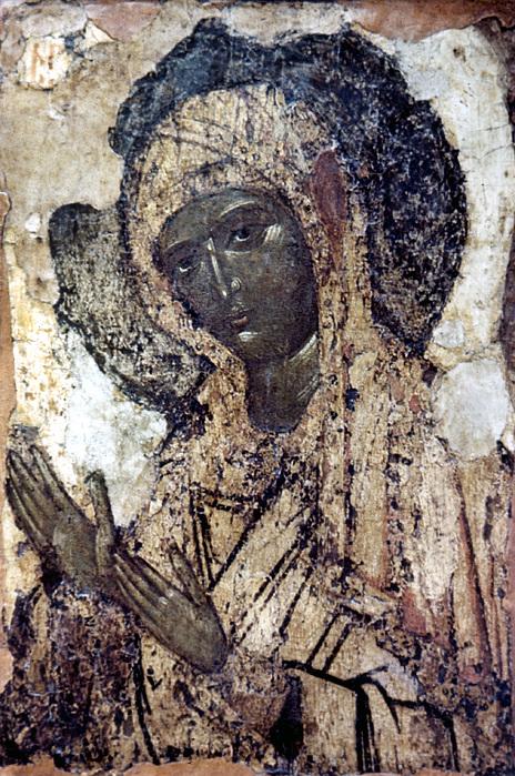 Khalkopratiyskaya Virgin Print by Granger