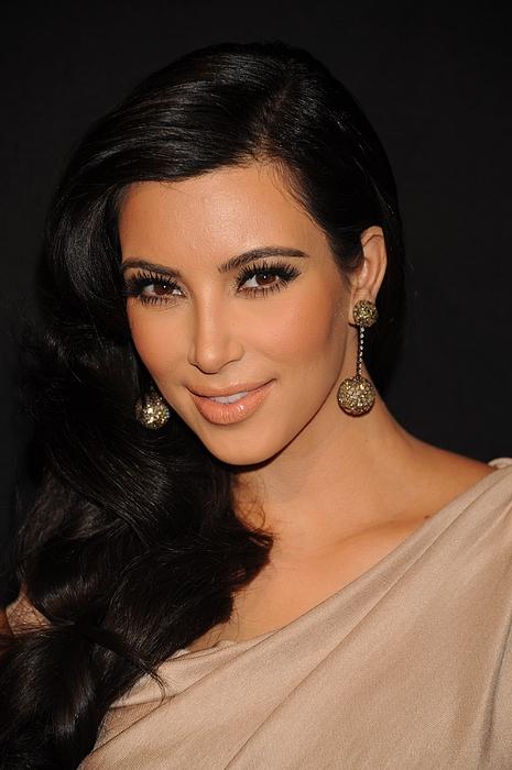 Kim Kardashian In Attendance Print by Everett
