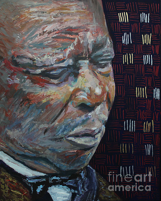 Robert Yaeger - King of the Blues B B King Portrait
