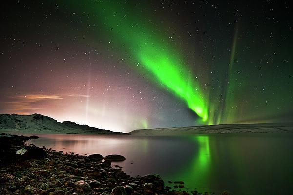 Kleifarvatn Lake Print by Gudjon Otto Bjarnason