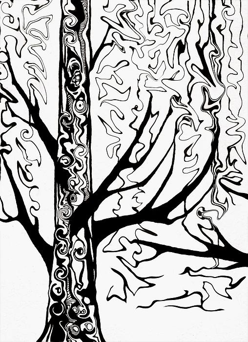 Knots Print by Jeff DOttavio