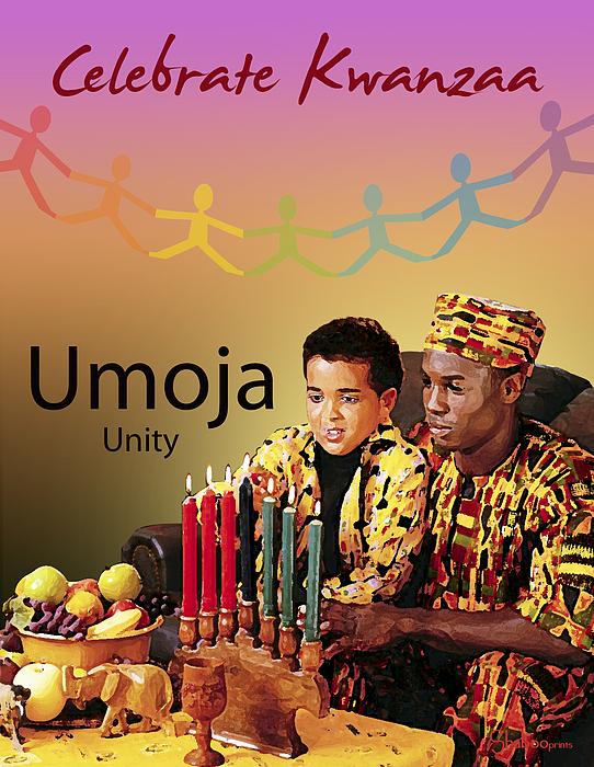 Kwanzaa Umoja Print by Shaboo Prints