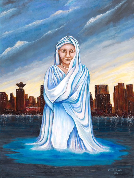 Lady Of All Nations Print by Linda Diane Taylor