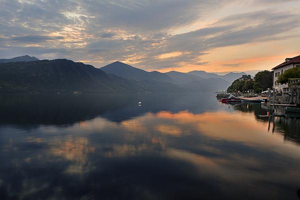 Lake Orta Print by Joana Kruse