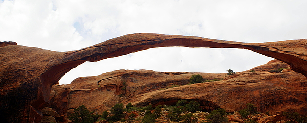 Landscape Arch 1 Print by Marty Koch