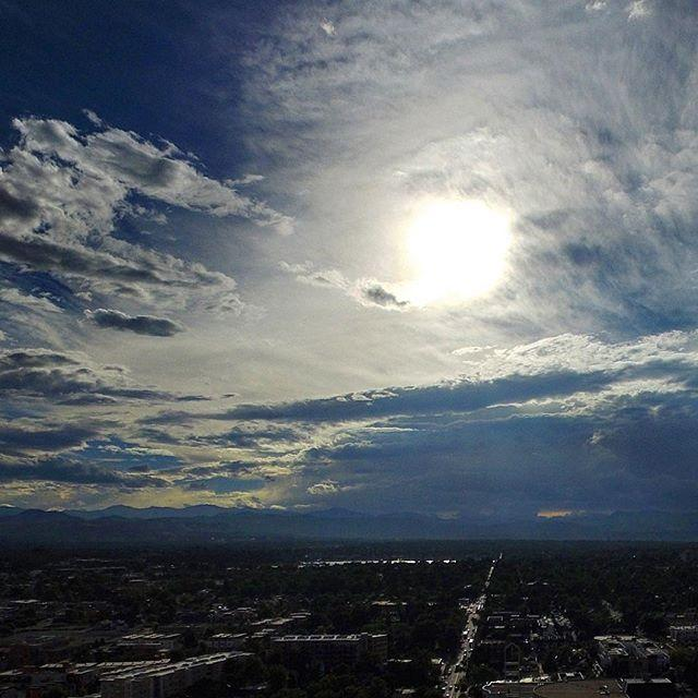 late afternoon clouds - photo #33