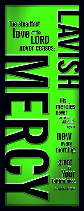 Lavish Mercy Print by Shevon Johnson