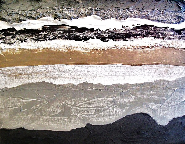 Layers L Print by Marsha Heiken