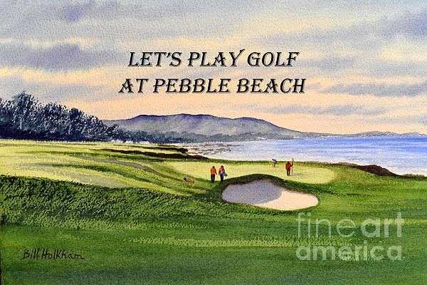 play pebble beach golf online
