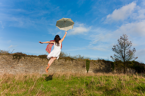 Let The Breeze Guide You Print by Semmick Photo