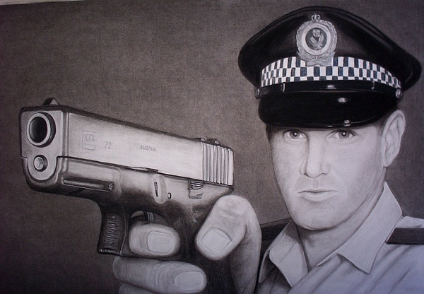 Lethal Force Print by Brendan SMITH