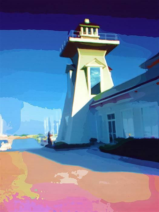 Lighthouse Print by Deborah MacQuarrie