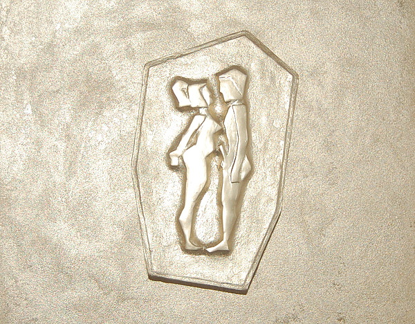 like Adam and Eva Print by Alexander Almark