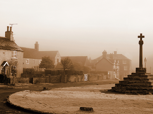 Linby Village Print by Graham Taylor