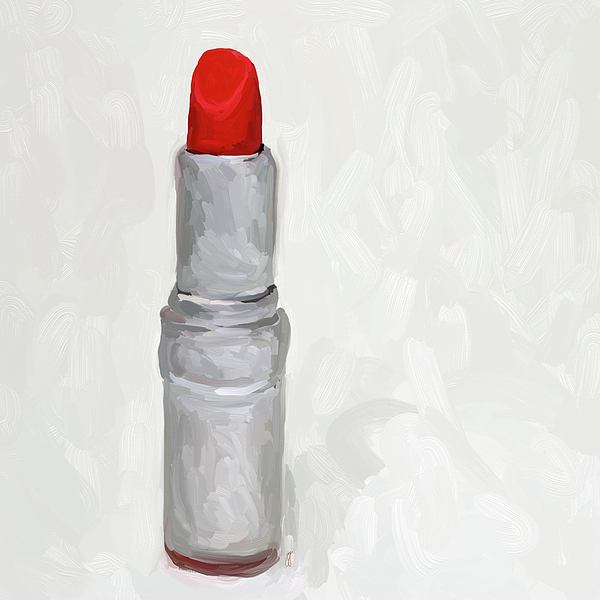 Lipstick II Print by Jai Johnson