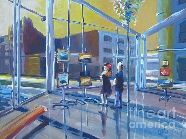 Lobby Gallery Print by Vanessa Hadady BFA MA