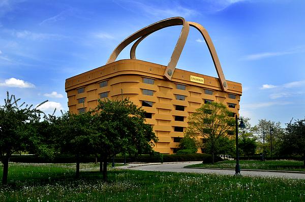 Longaberger basket building by tod ramey Longaberger basket building for sale