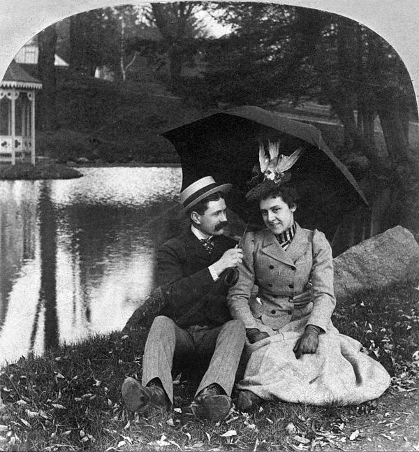 Love, 1900 Print by Granger