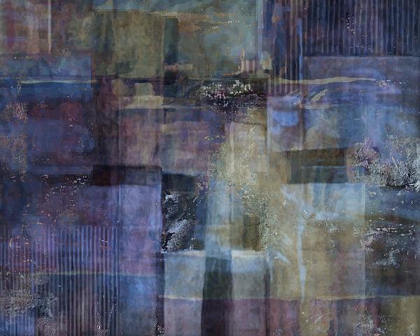 Luminous Layers Print by Lee Ann Asch