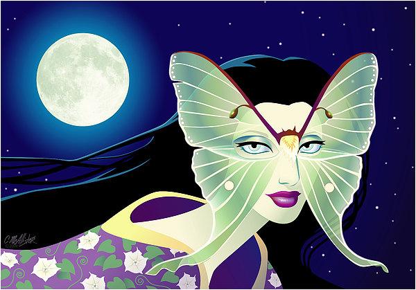 Luna Print by Cristina McAllister