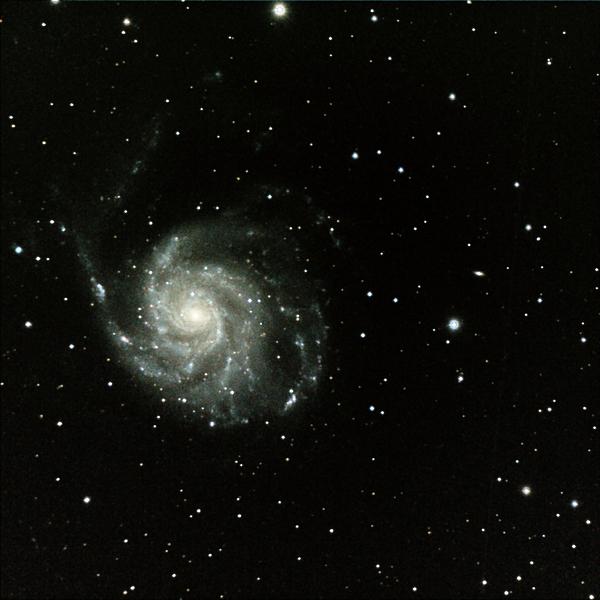 M-101, The Pinwheel Galaxy Print by A. V. Ley